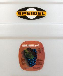 fut alimentaire 60 litres Speidel